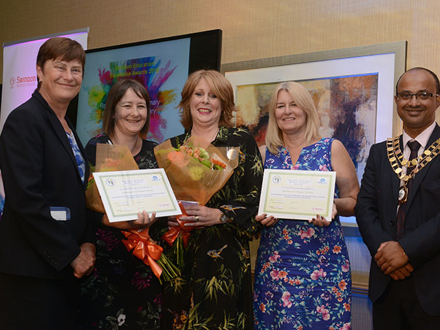 Mental Health Awards for Covingham Park Primary, Rodbourne Cheeny Primary & Haydonleigh Primary